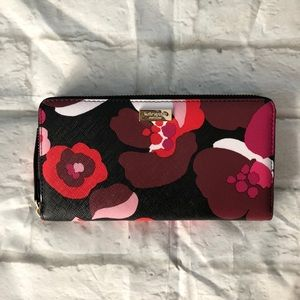 Kate Spade Cherry Bloom Neda Lacey Wallet